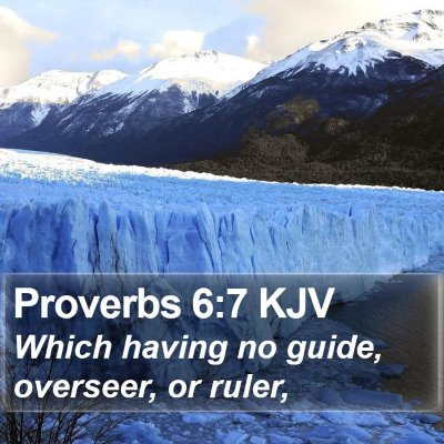 Proverbs 6:7 KJV Bible Verse Image