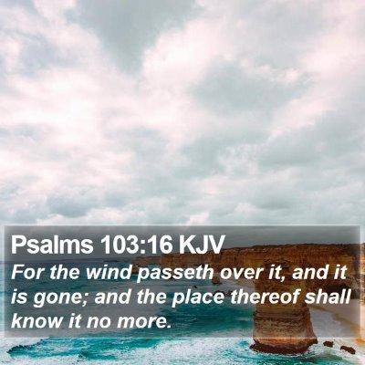 Psalms 103:16 KJV Bible Verse Image