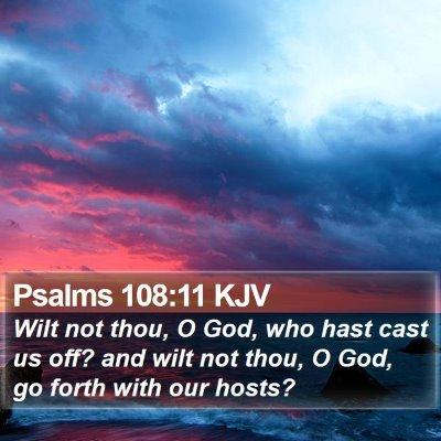 Psalms 108:11 KJV Bible Verse Image