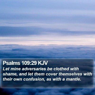 Psalms 109:29 KJV Bible Verse Image
