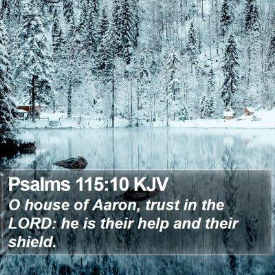 Psalms 115:10 KJV Bible Verse Image