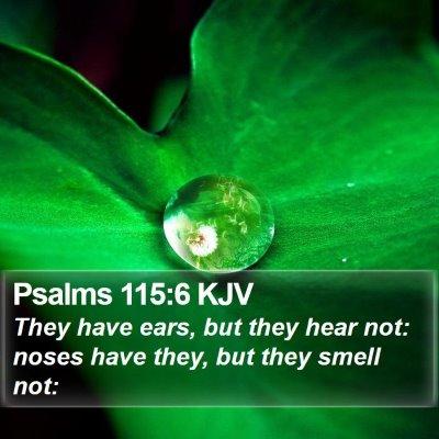 Psalms 115:6 KJV Bible Verse Image