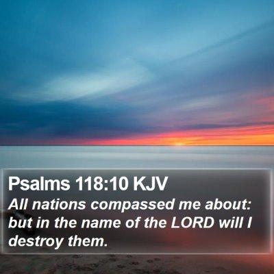 Psalms 118:10 KJV Bible Verse Image