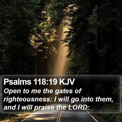 Psalms 118:19 KJV Bible Verse Image
