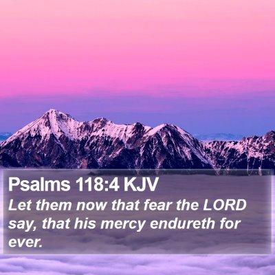 Psalms 118:4 KJV Bible Verse Image