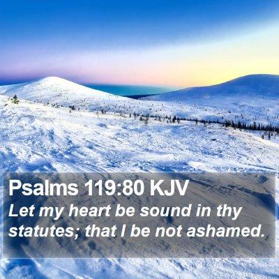 Psalms 119:80 KJV Bible Verse Image