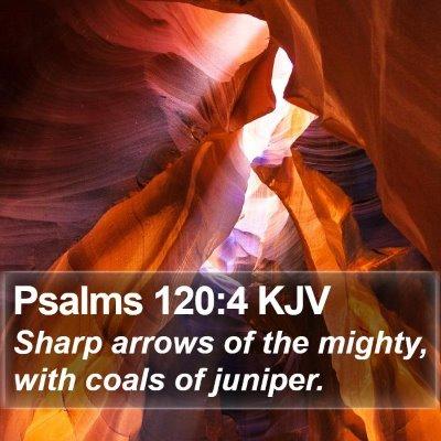 Psalms 120:4 KJV Bible Verse Image