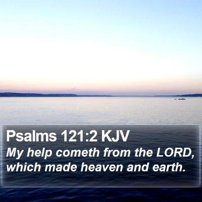 Psalms 121:2 KJV Bible Verse Image