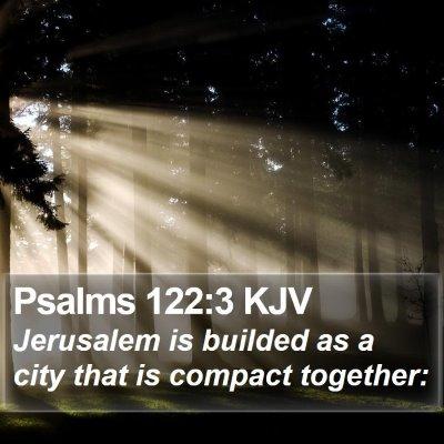 Psalms 122:3 KJV Bible Verse Image