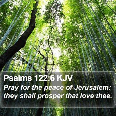 Psalms 122:6 KJV Bible Verse Image