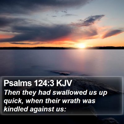 Psalms 124:3 KJV Bible Verse Image