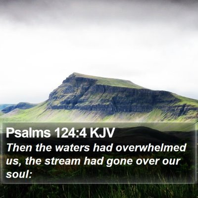 Psalms 124:4 KJV Bible Verse Image
