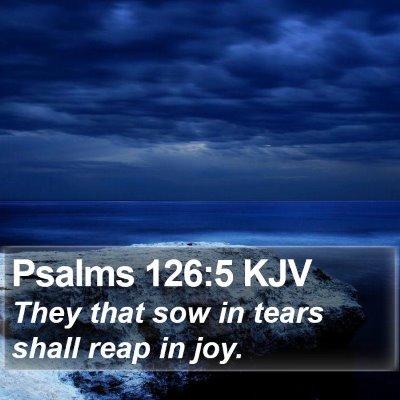 Psalms 126:5 KJV Bible Verse Image