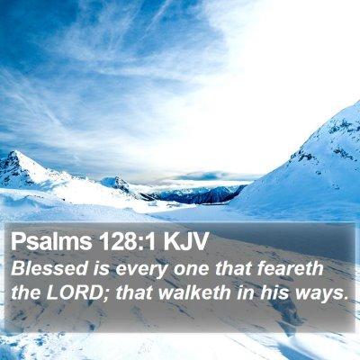 Psalms 128:1 KJV Bible Verse Image