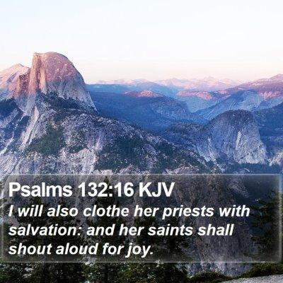 Psalms 132:16 KJV Bible Verse Image