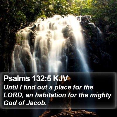 Psalms 132:5 KJV Bible Verse Image