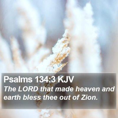 Psalms 134:3 KJV Bible Verse Image