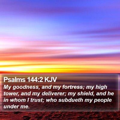 Psalms 144:2 KJV Bible Verse Image