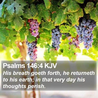 Psalms 146:4 KJV Bible Verse Image