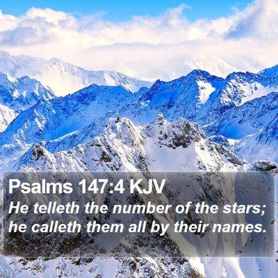Psalms 147:4 KJV Bible Verse Image