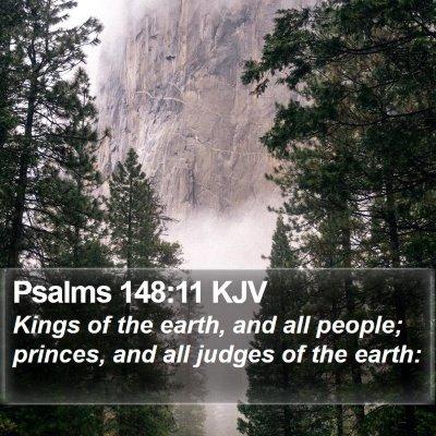 Psalms 148:11 KJV Bible Verse Image