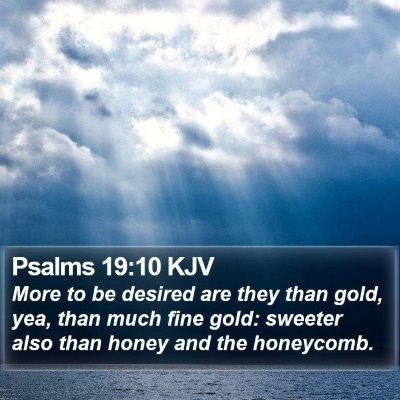 Psalms 19:10 KJV Bible Verse Image