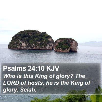 Psalms 24:10 KJV Bible Verse Image