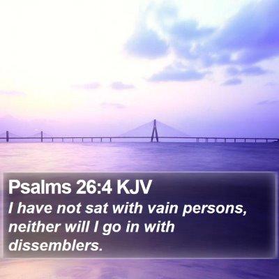 Psalms 26:4 KJV Bible Verse Image