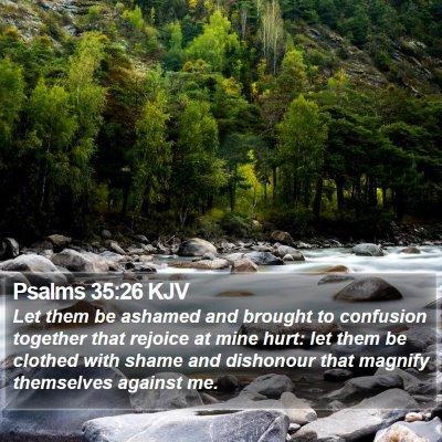 Psalms 35:26 KJV Bible Verse Image