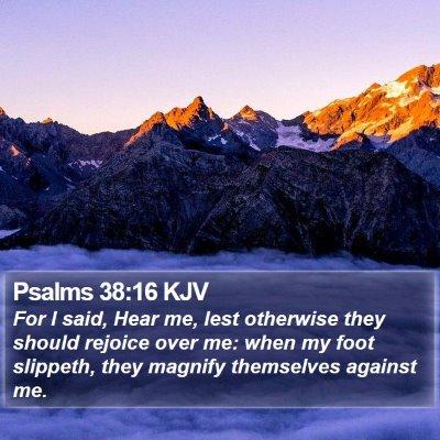 Psalms 38:16 KJV Bible Verse Image