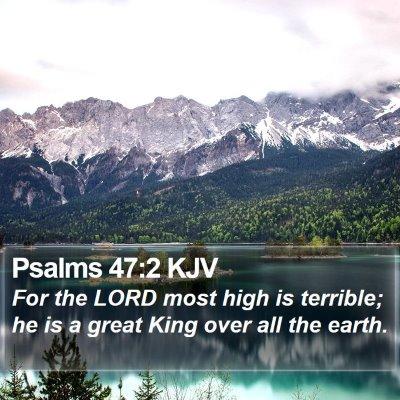 Psalms 47:2 KJV Bible Verse Image