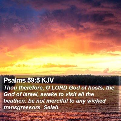 Psalms 59:5 KJV Bible Verse Image