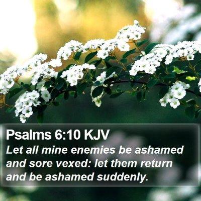 Psalms 6:10 KJV Bible Verse Image