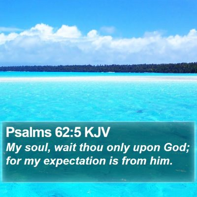 Psalms 62:5 KJV Bible Verse Image