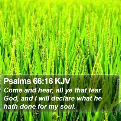 Psalms 66:16 KJV Bible Verse Image