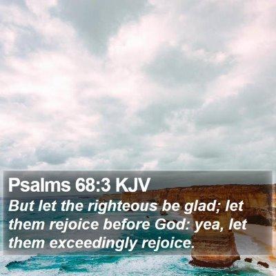 Psalms 68:3 KJV Bible Verse Image