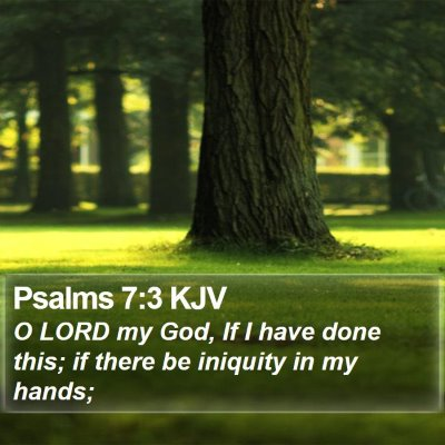 Psalms 7:3 KJV Bible Verse Image