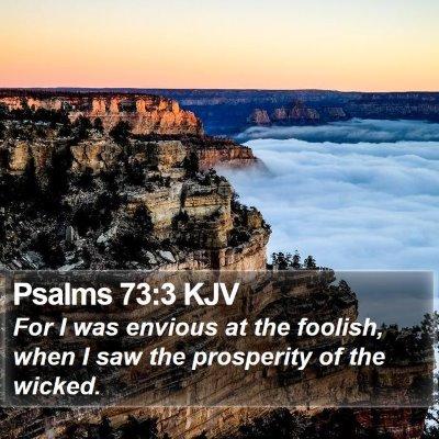 Psalms 73:3 KJV Bible Verse Image