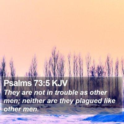 Psalms 73:5 KJV Bible Verse Image