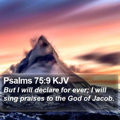 Psalms 75:9 KJV Bible Verse Image