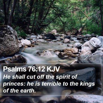 Psalms 76:12 KJV Bible Verse Image