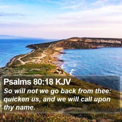 Psalms 80:18 KJV Bible Verse Image