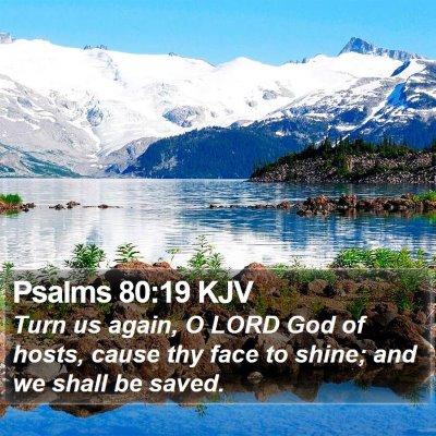 Psalms 80:19 KJV Bible Verse Image