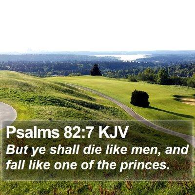 Psalms 82:7 KJV Bible Verse Image