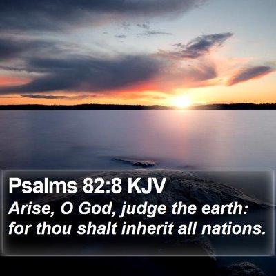 Psalms 82:8 KJV Bible Verse Image