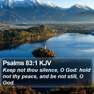 Psalms 83:1 KJV Bible Verse Image