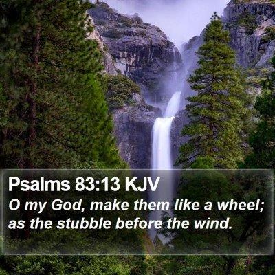Psalms 83:13 KJV Bible Verse Image