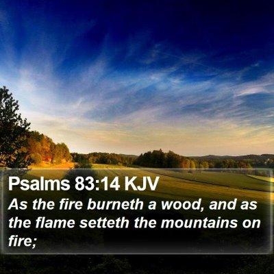 Psalms 83:14 KJV Bible Verse Image