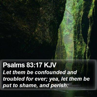 Psalms 83:17 KJV Bible Verse Image