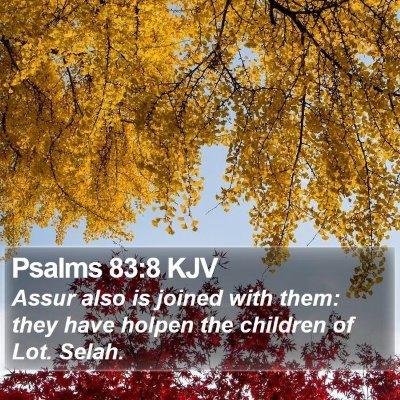 Psalms 83:8 KJV Bible Verse Image